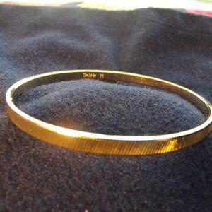Trifari Gold Bangle Medium
